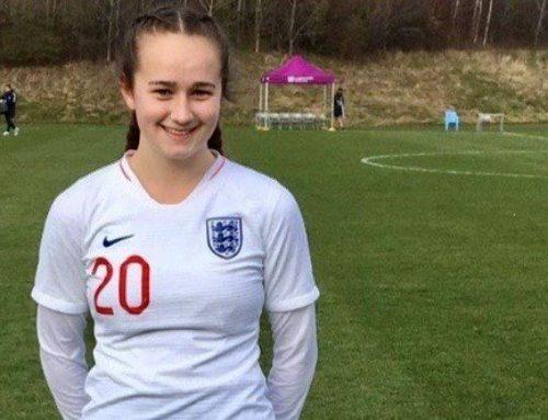 Congratulations Lucy Watson | England Football Player